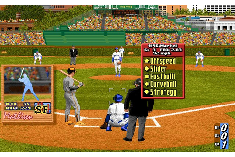 Download Hardball 4 sports for DOS (1994) - Abandonware DOS