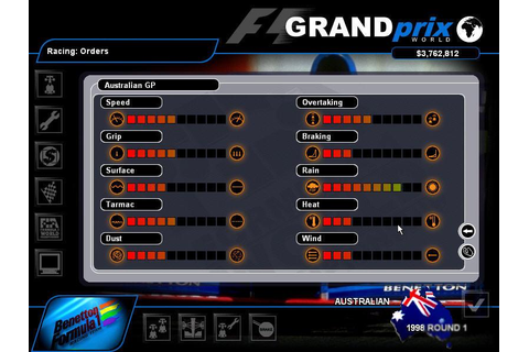 Grand Prix World Download (1999 Simulation Game)