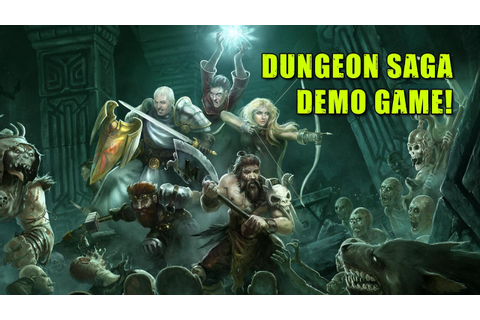 Delving Deep With A Dungeon Saga Demo Game! - YouTube