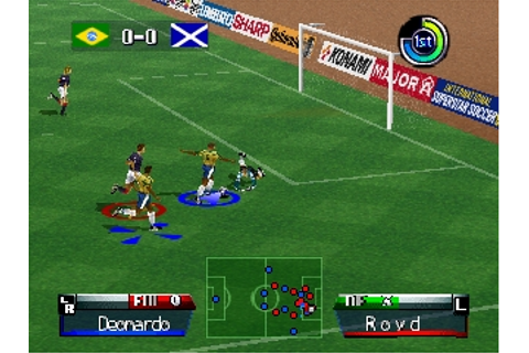 International Superstar Soccer '98 (Europe) ROM