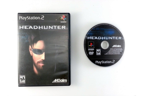 Headhunter game for Playstation 2 | The Game Guy