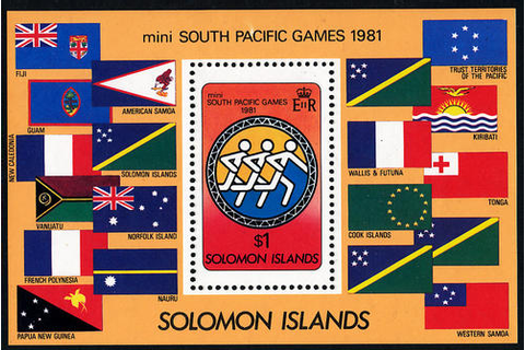 "Solomon Islands - Flags - A beautiful MS ""Mini South ..."
