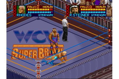 WCW SuperBrawl Wrestling on Qwant Games