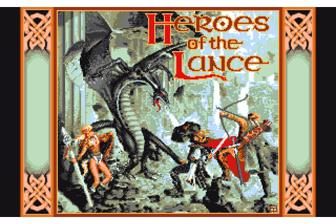 Heroes of the Lance (1988) Amiga game