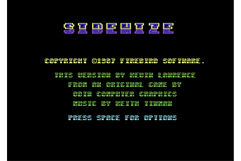 Download Sidewize (Commodore 64) - My Abandonware
