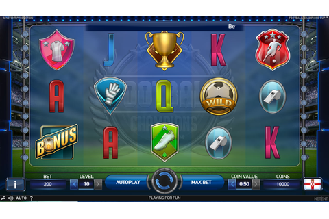 Football: Champions Cup Slots - Try the Free Demo Version