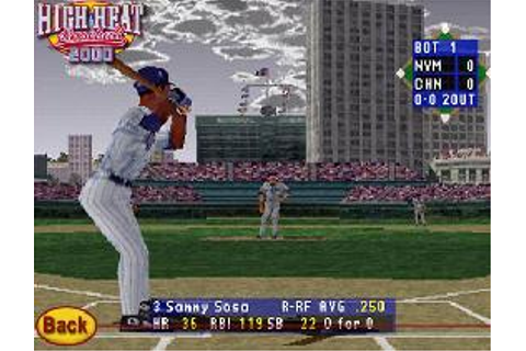 High Heat Baseball 2000 Review - GameRevolution
