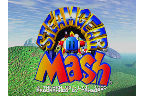 SteamGear Mash (1995) by Takara Saturn game