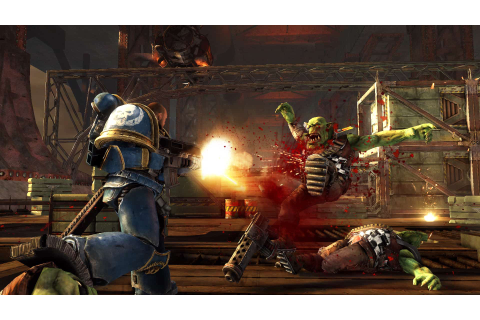 'Warhammer 40,000: Space Marine': Cover is For the Weak ...