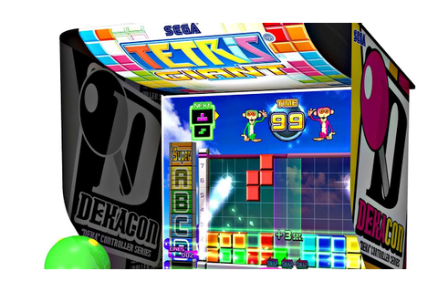 TETRIS Dekaris GIANT Game Play! - YouTube