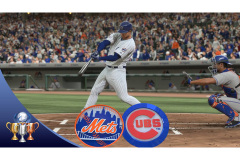 MLB The Show 16 - Mets vs Cubs (Full Game, Broadcast ...