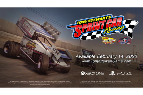 Tony Stewart's Sprint Car Racing - Gameplay Trailer - YouTube