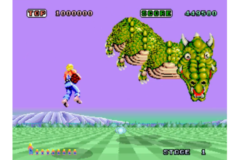 Indie Retro News: Space Harrier - A retro look back of a ...
