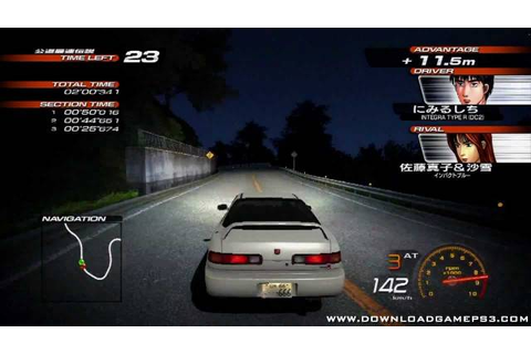 Initial D Extreme Stage - Download game PS3 PS4 RPCS3 PC free