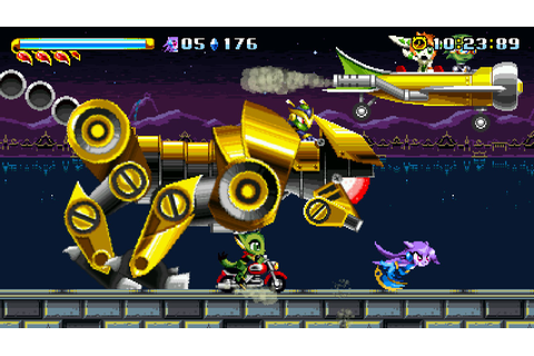 2D Platformer Freedom Planet Gets Teased for the Nintendo ...