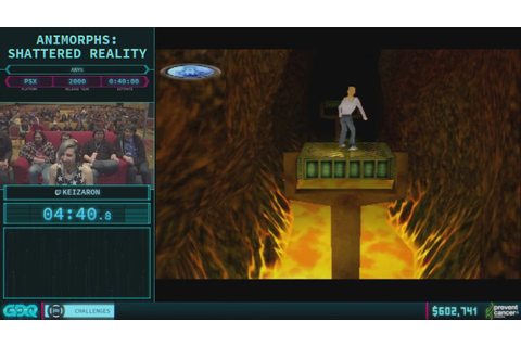 Animorphs: Shattered Reality by Keizaron in 40:13 - AGDQ ...