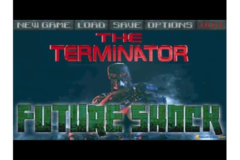 Terminator: the Future Shock - 1995 PC Game, introduction ...