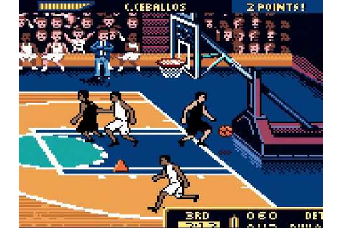 NBA Hoopz (GBC) - Vizzed.com GamePlay - YouTube