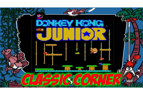 Donkey Kong Jr Review Arcade Classic Game - YouTube