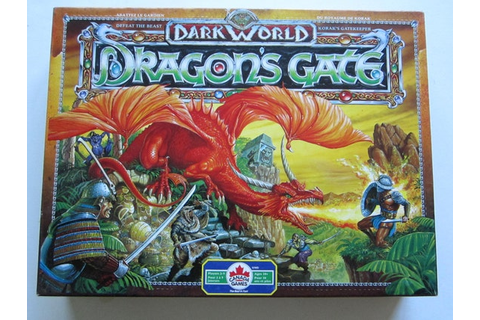 Vintage Rare Dark World Expansion : Dragon's Gate Board