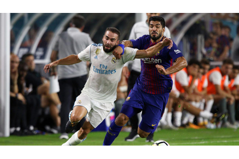 Real Madrid vs Barcelona live stream: Spanish Super Cup TV ...