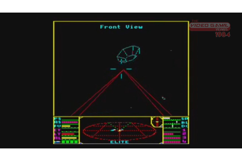 Elite (BBC Micro) - Video Game Years 1984 - YouTube