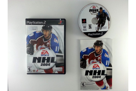 NHL 2004 game for Playstation 2 (Complete) | The Game Guy