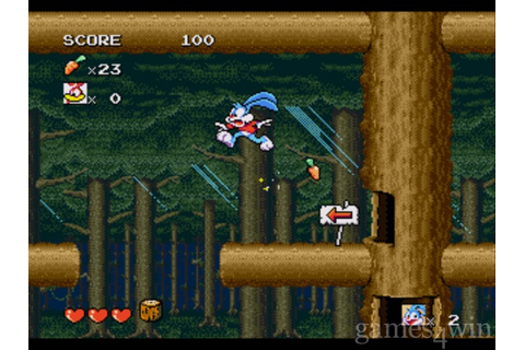 Tiny Toon Adventures: Buster's Hidden Treasure Download on ...