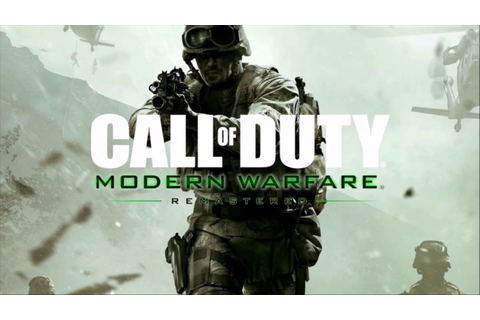 Call of Duty Modern Warfare Remastered Torrent Download ...