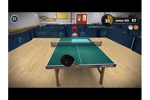 Table Tennis Touch - ACTION Sport Simulation / GAME play ...
