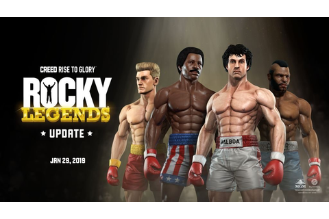 Free ROCKY Legends DLC Detailed For CREED: Rise To Glory ...