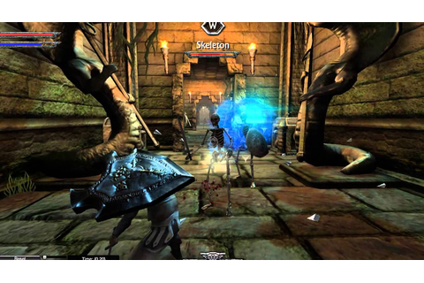 Ravensword: Shadowlands PC Temple area - YouTube