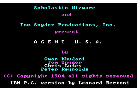 Download Agent USA - My Abandonware