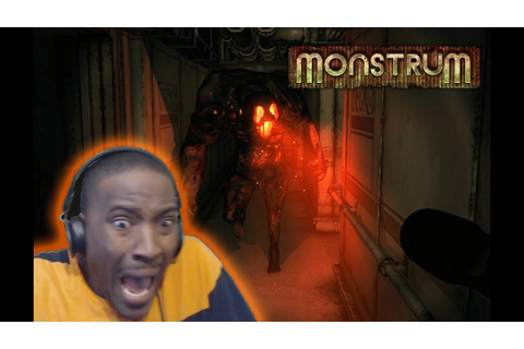 Monstrum Horror Game | I ALMOST CRIED!! - YouTube