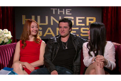 The Hunger Games Cast Interview - YouTube