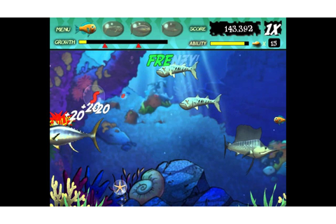 Feeding Frenzy 1 gameplay level 21 to 30 - YouTube