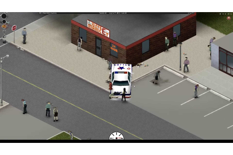 Project Zomboid - Devblog: Gameplay Video of In-Game Vehicles