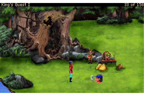 Download Kings Quest - Quest for the Crown VGA | Abandonia
