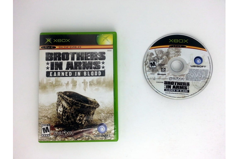 Brothers in Arms Earned in Blood game for Xbox | The Game Guy