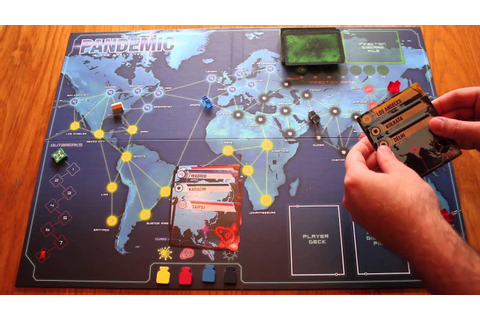 Pandemic Board Game Tutorial - Game Setup - YouTube