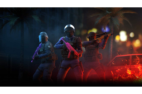 Critical Ops game website