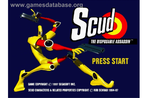 Scud: The Disposable Assassin - Sega Saturn - Games Database