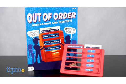 Out of Order from Endless Games - YouTube