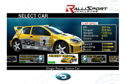 RalliSport Challenge Screenshots for Windows - MobyGames