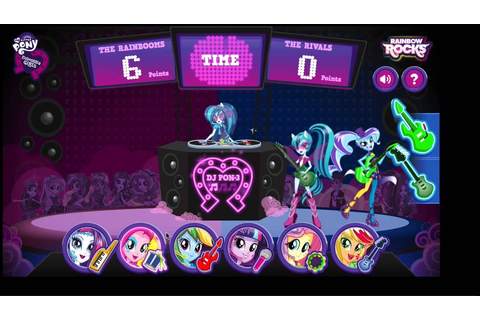 MLP game: MLP EG battle of the bands - YouTube