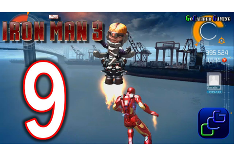 IRON MAN 3: The Official Game Android Walkthrough - Part 9 ...