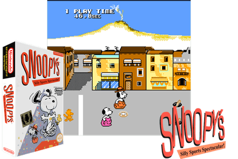 Snoopy's Silly Sports Spectacular! (USA) Just another ...