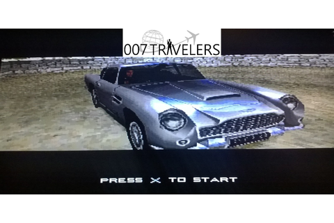 007 TRAVELERS: 007 Item: 007 Racing Playstation game