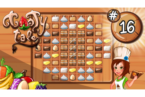 Tasty Tale - Level 16 (New Match 3 Puzzle Game) - YouTube