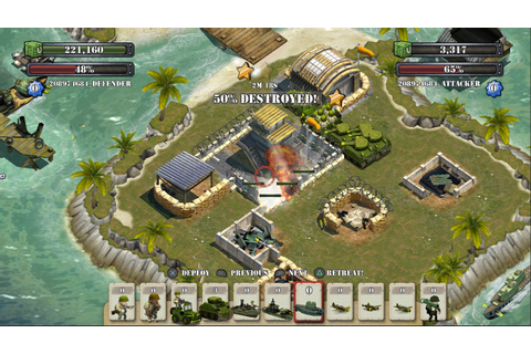 Free-to-play action strategy game Battle Islands marches ...